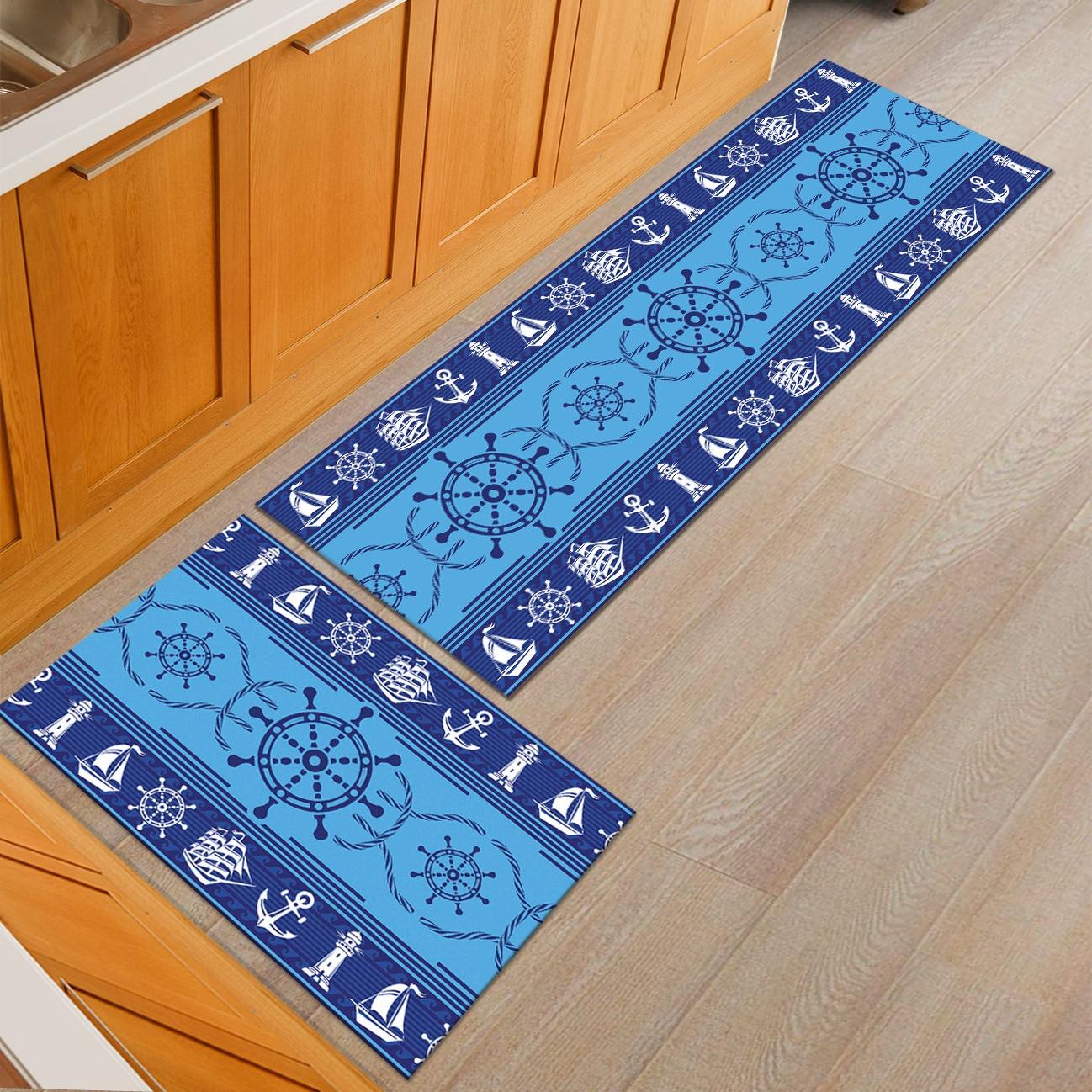 Us 10 41 16 Off Ergonomic Non Toxic Anti Fatigue Kitchen Floor Mat Non Slip Machine Washable Absorbent Floor Rug Extra Long Bathroom Runner Rug In