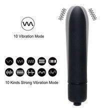 12 Colors 10 Speed Mini Bullet Vibrator for Women Waterproof Clitoris Stimulator Dildo Vibrator Sex Toys for Woman Sex Products
