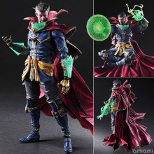 GZTZMY 25CM Play Arts Marvel Super Hero Doctor Strange Action Figures Model Toys Anime figures toys Birthday for kids gifts