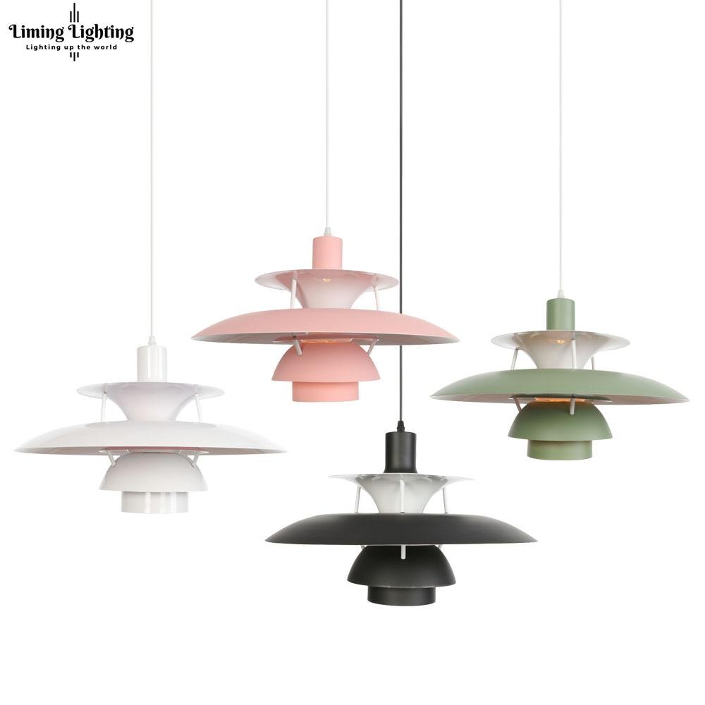 Colorful Nordic E27 Led Pendant Light Umbrella Led Suspend Lamp Dining Room Led Pendant Lamp Led