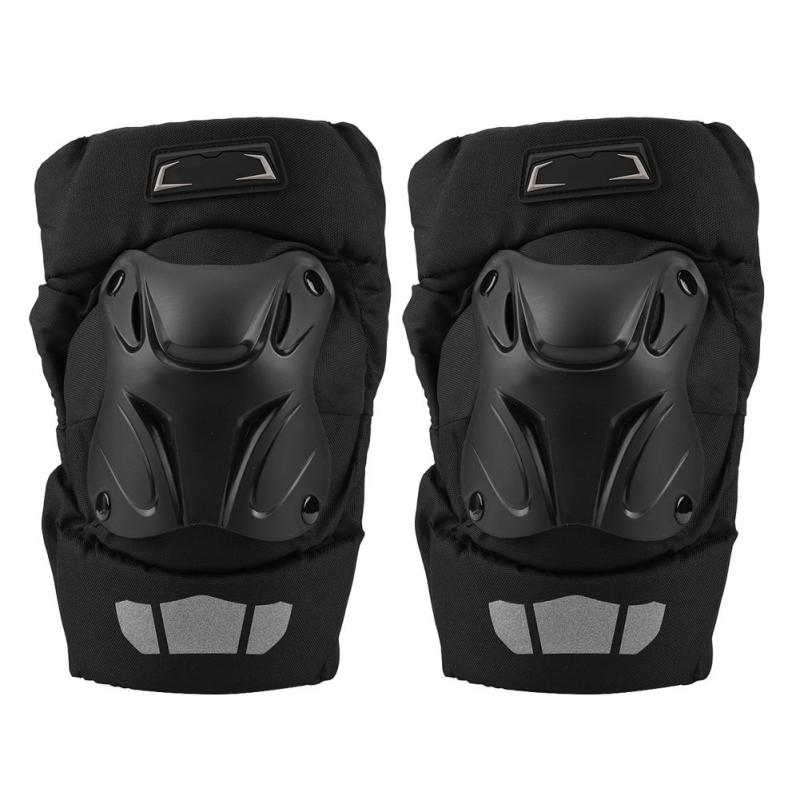 2Pcs Motorcycle Racing Protective Guard Gear Knee Pads Protector windproof Motor-Racing Guards Safety Protective Gear