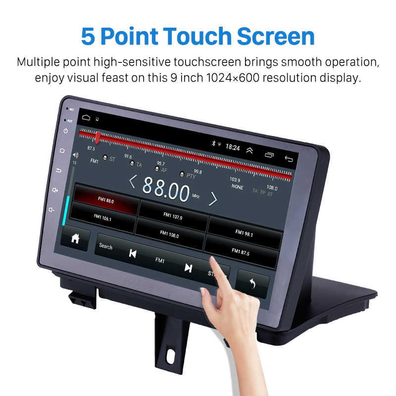 "9 Q3 Harfey para AUDI 2013-2017 Android 8.1 ""Bluetooth GPS Navi Rádio auto suporte 3G WI-FI DAB + Digital DVR TV SWC retrovisor OBD2"