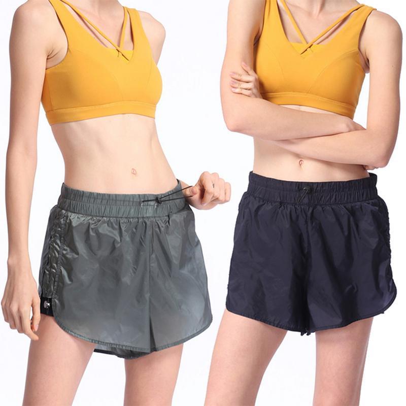 Exercício de Treino para Mulheres de Cintura Alta Shorts Yoga Activewear Sexy Mulheres Verão Calções Desportivos