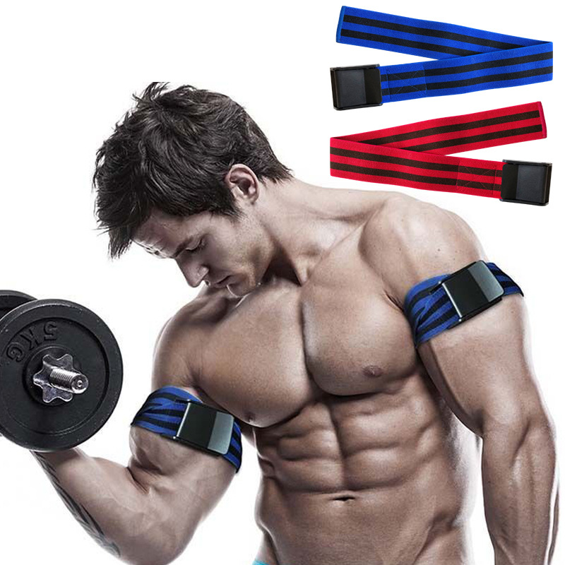 Fitness Occlusion Training Bands Blood Flow Restriction Bands Arm Leg Wraps Gain Muscle Growth Bodybuilding Weight Gym Equipment