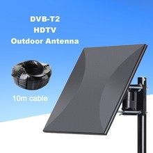 Get more info on the Satxtrem 318A DVB-T2 HDTV Outdoor Indoor Base Station Antenna Lightning Protection DVB T T2 260km Signal Amplifier TV Aerial