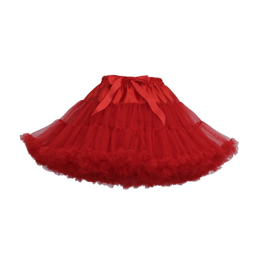 MISSKY Women Girl Fluffy Girl Adualt Pettiskirt Tutu Women Tutu Party Dance Adult Skirt Performance Cloth TulleSkirt