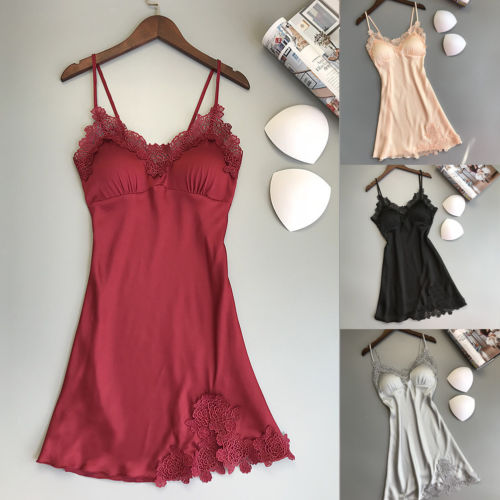 <font><b>Sexy</b></font> <font><b>Ladies</b></font> Sleepwear <font><b>Women</b></font> <font><b>Babydoll</b></font> Lace <font><b>Lingerie</b></font> Underwear Nightdress Casual Sleepwear Dress Summer <font><b>Fashion</b></font> New Hot 5 Colors image