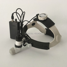 Medical Headlight 3W LED Headlamp Dental Surgical Focusable Light Sopt with Aluminum Box