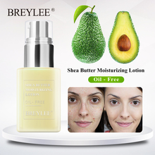 BREYLEE Oil-Free Day Night Face Cream Shea Butter Moisturizing Acne Lotion Treatment Emulsion For Face To Nourish Skin Care 45g
