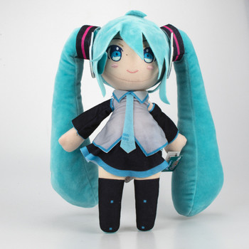 33cm Anime Hatsune Miku Plush Toy Vocaloid Hatsune Miku Figure Cosplay Pillow Stuffed Doll Toys