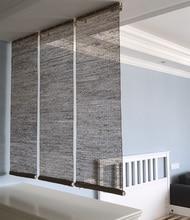 Southeast Asia Natural Ramie Curtain blinds Zen Vestibule screen Partition curtain Door curtain for living room/Bedroom/Tearoom