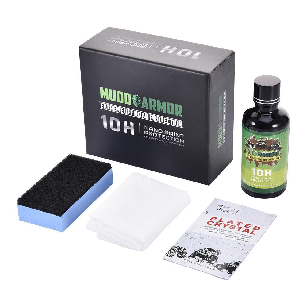 50ML 10H Ceramic Car Coating Liquid Glass Waterproof Nano Ceramic Car Paint Care Anti-scratch Super Hydrophobic Coat
