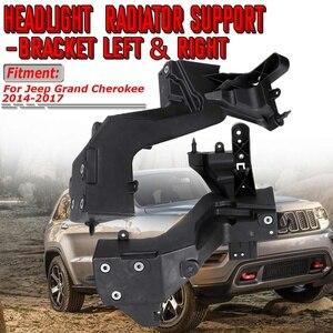Image 1 - Yüksek Kaliteli Araba Ön Far Far Braketi Radyatör Standı Destek Braketi Jeep Grand Cherokee 2014 2017 Için 68223399AA