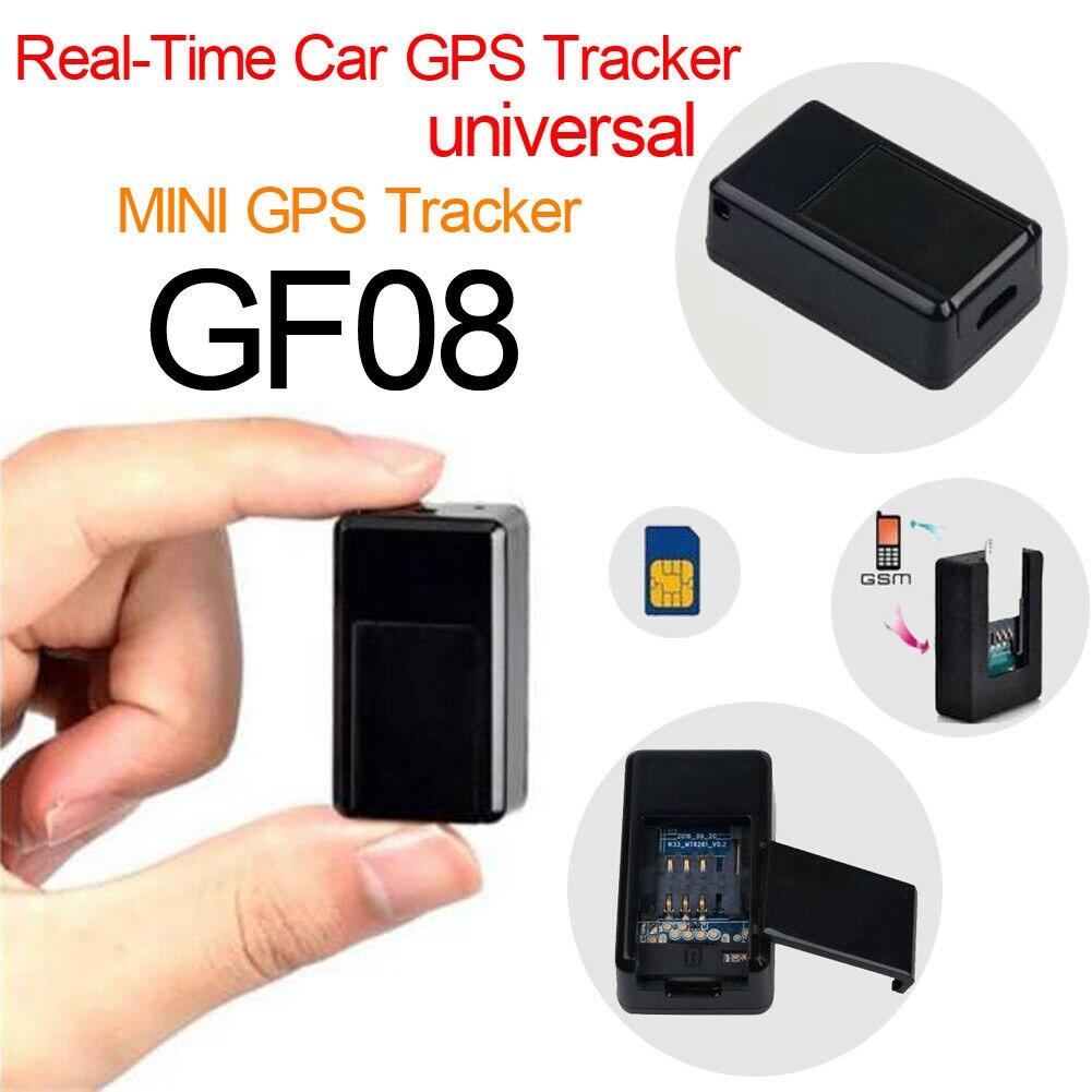 Mini Realtime Rastreador GF-08 Veículo GSM GPS Para Rastreador Localizador de Rastreamento Do Carro
