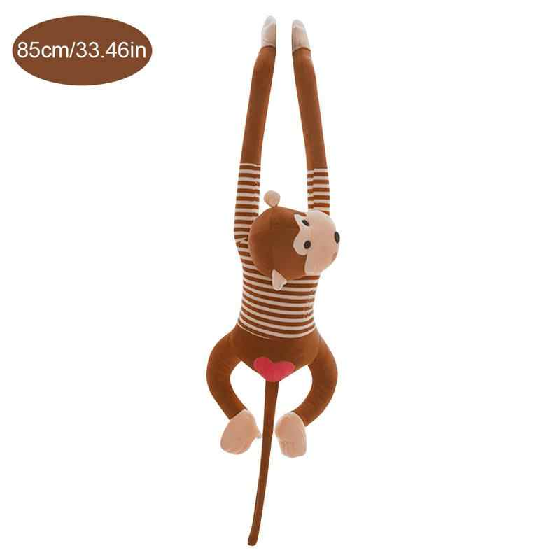 55/85 см милая кукла обезьяна с длинными руками хвост чучело Плюшевые игрушки, аппетитные детские шторы игрушки «обезьяна» подарки для детей
