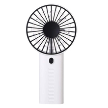 New Hot Mobile Phone Bracket Mini Fan Portable Usb Rechargeable Air Conditioner Summer Cooler (White)