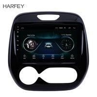 Harfey 9 дюймов Android 8,1 для Renault Captur CLIO 2011 2016 samsung QM3 Руководство A/C gps для навигации и аудиосистемы системы сенсорный экран
