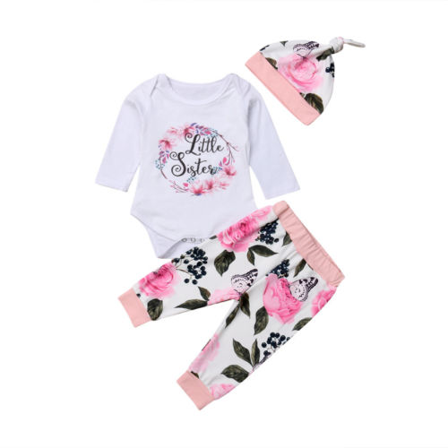 847ddd8c6 Aliexpress.com   Buy Newborn Infant Baby Girl Clothing Tops Romper ...