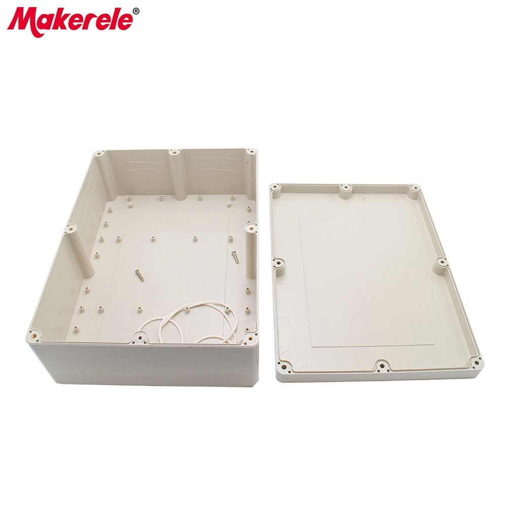 Enclosure ABS Material Connection Box IP65 Waterproof Electrical Boxes Outdoor Plastic Case For Electronics Electro Project