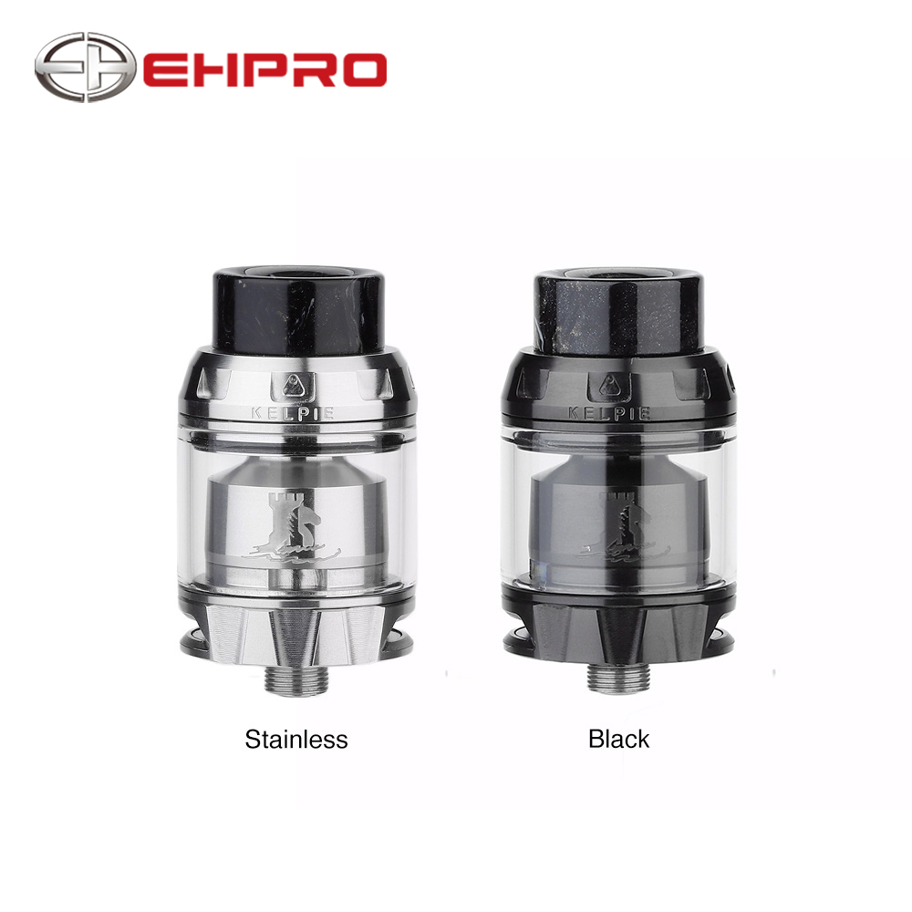 NEW Original Ehpro Kelpie RTA 2ml Capacity with Dual Posts Simple Cotton Wicking Honeycomb Air Slot