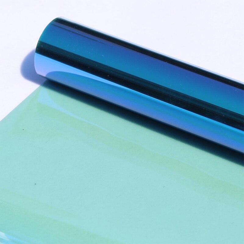 50 cm X 300 cm VLT50 % IR90 % film solaire couleur changeante film de verre film caméléon de voiture