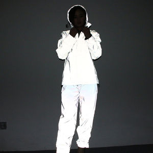 Image 4 - Men/Women Unisex Hip Hop Dancing Reflective Light Dancing Night Jogger Pants Jogging Sports Trousers
