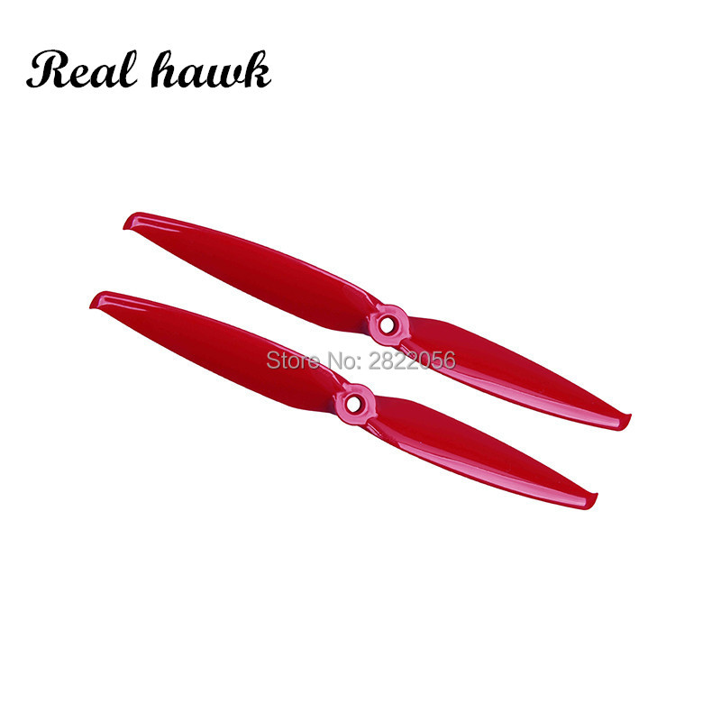 2 pair 4 colors Gemfan <font><b>7042</b></font> 7.0x4.2 FPV PC 2 <font><b>propeller</b></font> Prop Blade CW CCW for 2407-2408 Motor for RC Drones Quadcopter Frame image