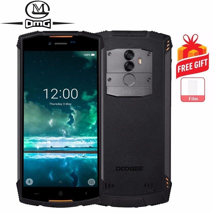 Купить DOOGEE S55 Lite IP68 Водонепроницаемый противоударный мобильный телефон 5500 mAh 5,5