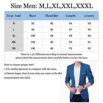 Men Blazer Coat Jacket Outwear Solid Suit Formal Business Star Stage Club Suit 1