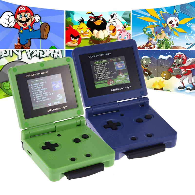 Rondaful US DG-170gbz Mini GB Station Handheld Game Console 2.4 Inch Classic Games