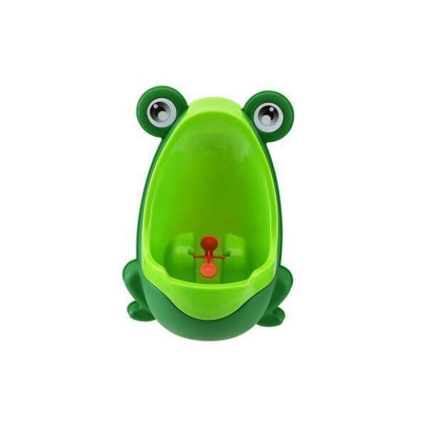 Children Fun Pot Kids Frog shaped Urinal green in Potties from Mother Kids