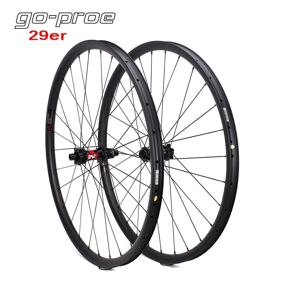 Japn Toray Carbon Rim 29er Carbon MTB Wheel XC Wheelset Mountain Bike Rim 360g Only With 12 Speed DT Swiss 240 Hub 27mm 23mm