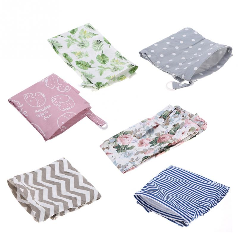 Mother & Kids Trustful Feathers Baby Infant Breathable Cotton Breastfeeding Nursing Cloth Cover