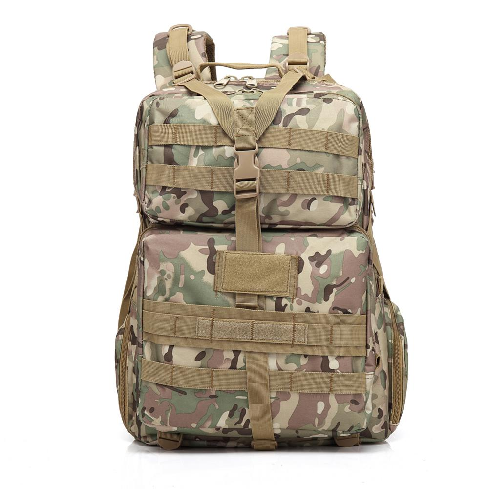 Portable Backpack BL068 3P 45L Outdoor Marching Knapsack Tactical Camouflage Durable Oxford 600DFabric Large Capacity For HikingPortable Backpack BL068 3P 45L Outdoor Marching Knapsack Tactical Camouflage Durable Oxford 600DFabric Large Capacity For Hiking