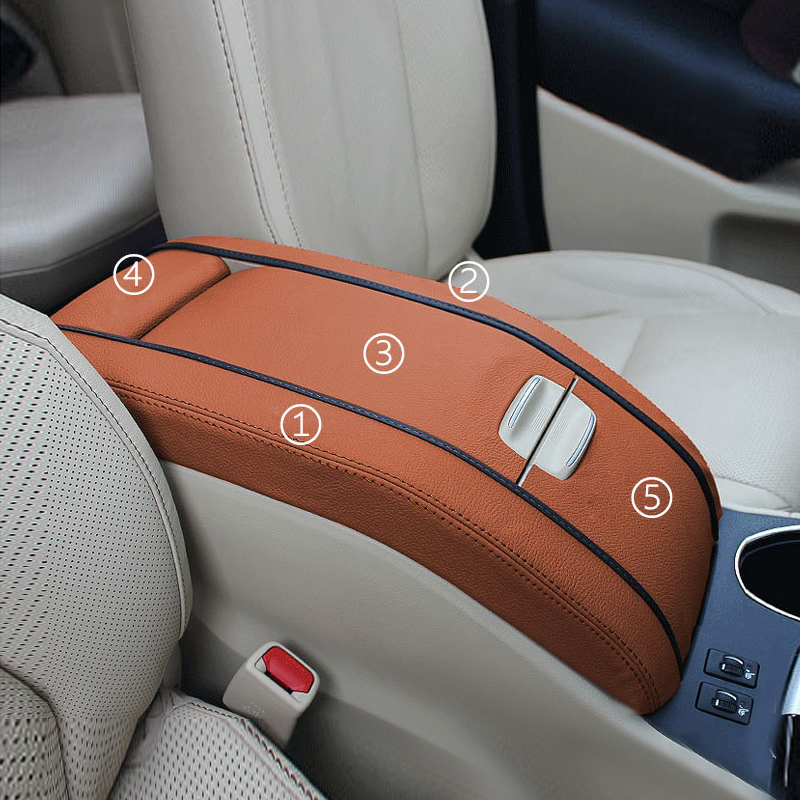 5pcs Interior Car Center Armrest Box Pad Microfiber Leather Cover Trim For Toyota Highlander 2015 2016 2017 2018-in Interior Mouldings from Automobiles & Motorcycles