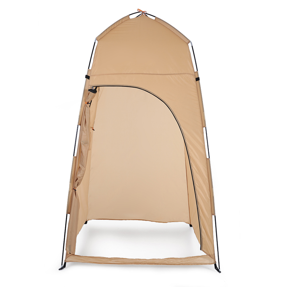 TOMSHOO Portable Camping Tent  With Large Zippered Door Used As Forest And Mountain 2