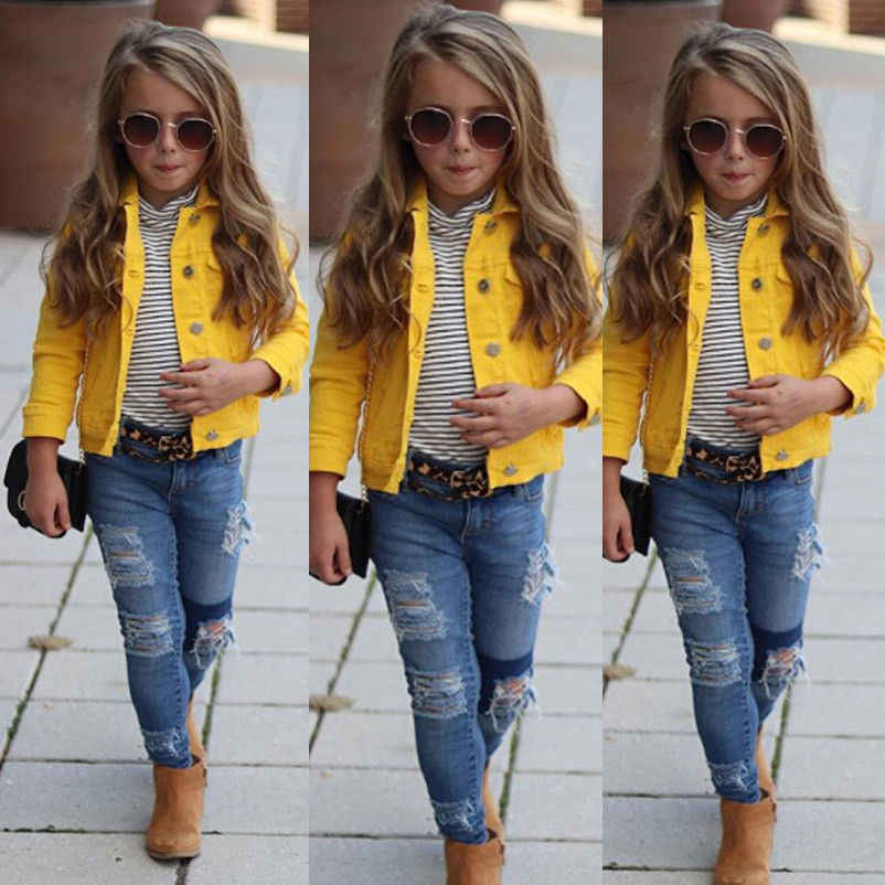 dbb6b8aba8c4 Detail Feedback Questions about Kid Baby Girls Boys Denim Jacket ...