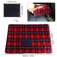 88x65 см 5 в USB электрическое подогреваемое одеяло нагреватель согревающий конверт для дома и офиса автомобиля использовать зимнее теплое оде...