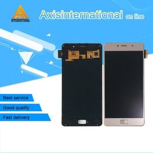 Image 1 - Axisinternational dla Lenovo Vibe P2 P2a42 P2c72 ekran LCD + ramka + Panel dotykowy Digitizer dla Lenovo Vibe P2 rama LCD