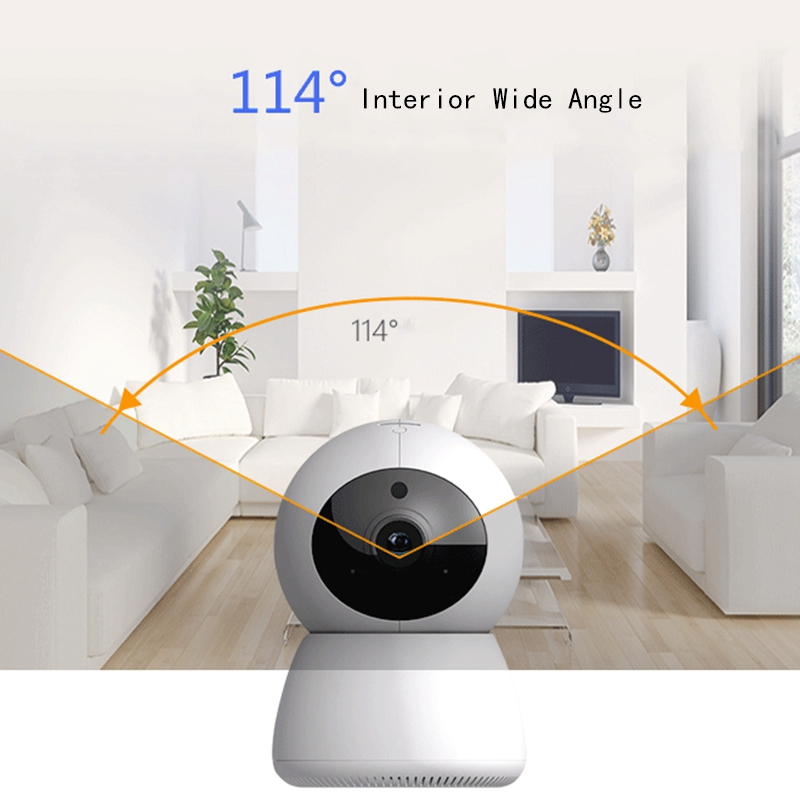 1080P Ip Camera Wi-Fi Wireless Home Security Camera Mini Network Camera Night-Vision Cctv Camera Baby Monitor1080P Ip Camera Wi-Fi Wireless Home Security Camera Mini Network Camera Night-Vision Cctv Camera Baby Monitor