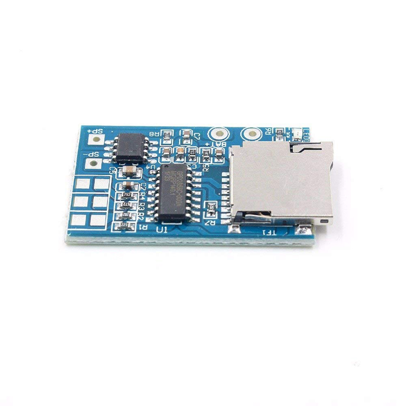 Integrated Circuits 1pcs Great It Gpd2846a Tf Card Mp3 Decoder Board 2w Amplifier Module For Arduino Gm Power Supply Module