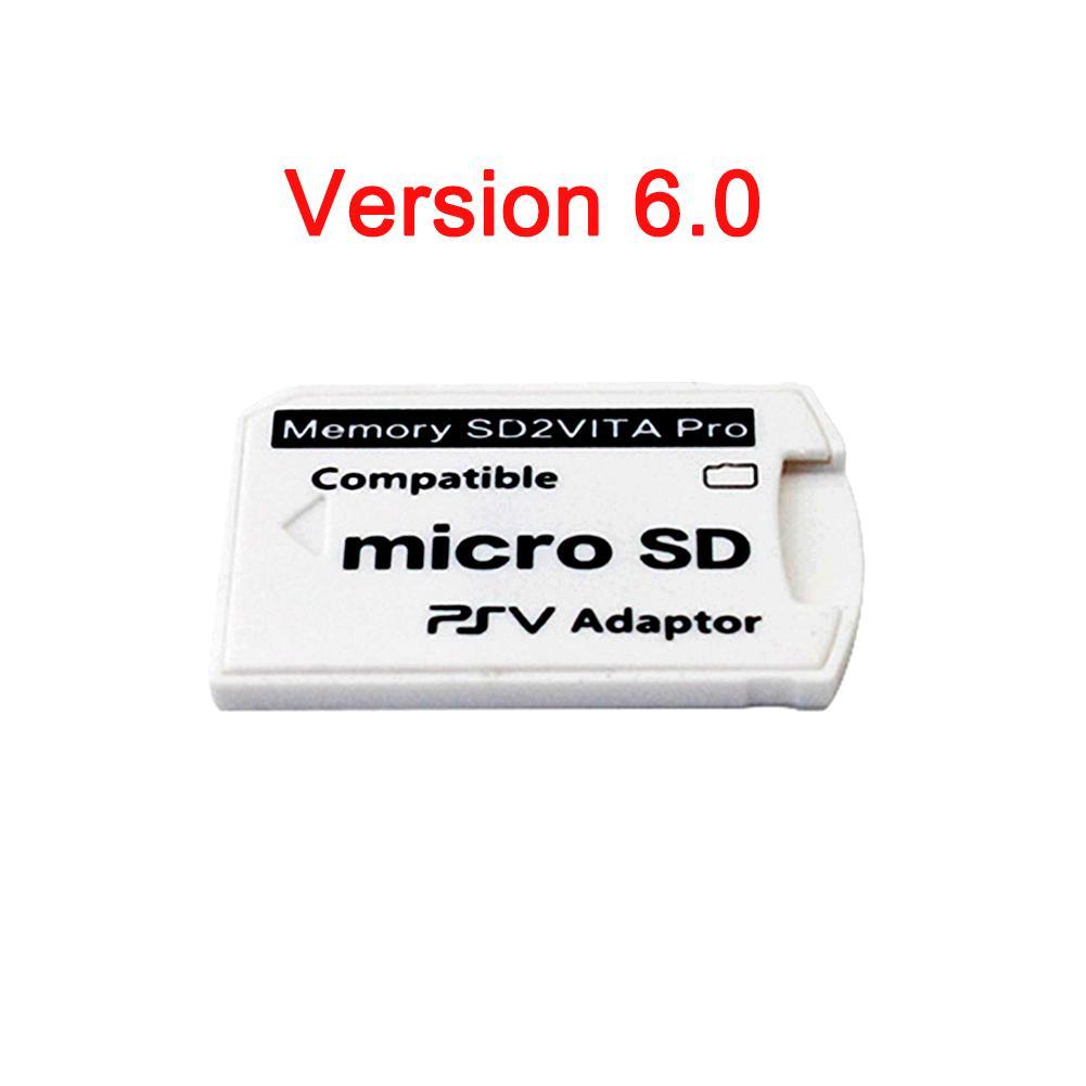 Image 4 - V6.0 SD2VITA PSVSD адаптер для карт памяти PSVita Henkaku 3,65 Системы 1000 2000 TF карты конвертер 35X35X5 мм Новый-in Сменные детали и аксессуары from Бытовая электроника