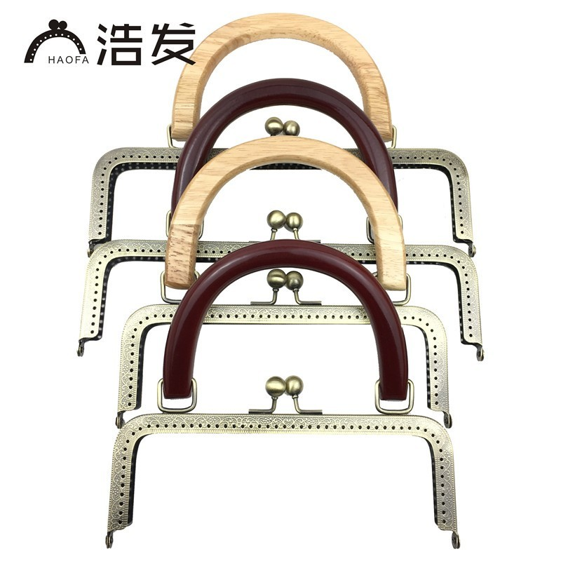 The Cheapest Price 3pcs 8.5cm 10.5cm 12.5cm 15.5cm 18cm 20.5cm White Pearl Head Metal Handle Purse Frame For Bag Sewing Craft Tailor Sewer Luggage & Bags