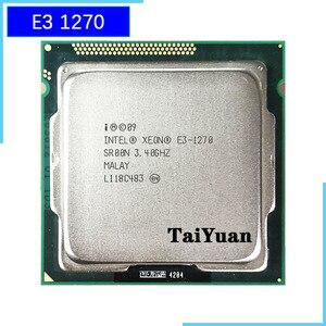 Image 1 - Intel Xeon E3 1270 E3 1270 3.4 GHz 쿼드 코어 CPU 프로세서 8M 80W LGA 1155