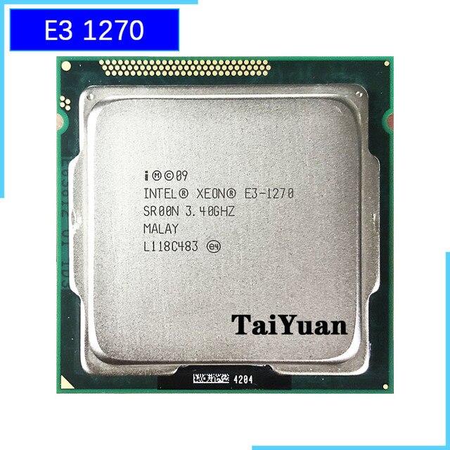 Intel Xeon E3 1270 E3 1270 3.4 GHz 쿼드 코어 CPU 프로세서 8M 80W LGA 1155