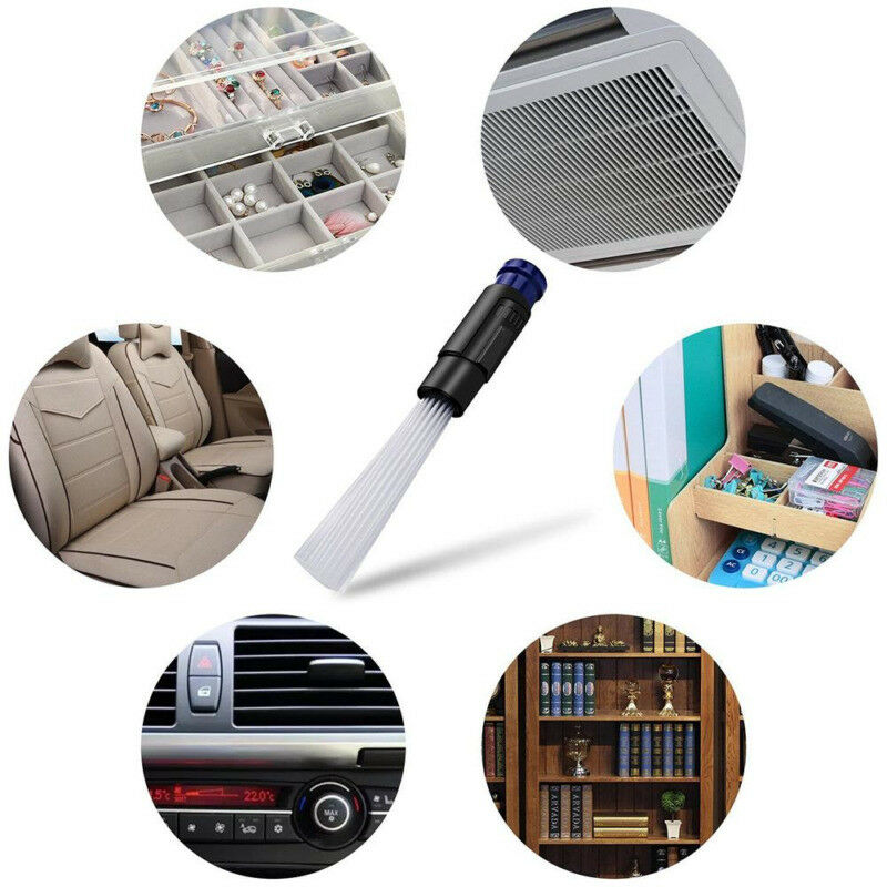Dust Cleaner Household Straw Dust Brush Remover Portable Universal Vacuum Attachment Dirt Clean Computer Keyboard Cleaning Tool