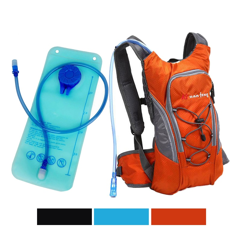 Outdoor Hydration Backpack with 2L Water Bag Cycling Camping Hiking Camelback Riding Backpack Water Hydration Backpack