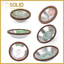 1 шт. алмазный шлифовальный круг, шлифовальный круг для вольфрамовой стали, Фрезерный инструмент, точилка, шлифовальная машина, аксессуары, различные размеры