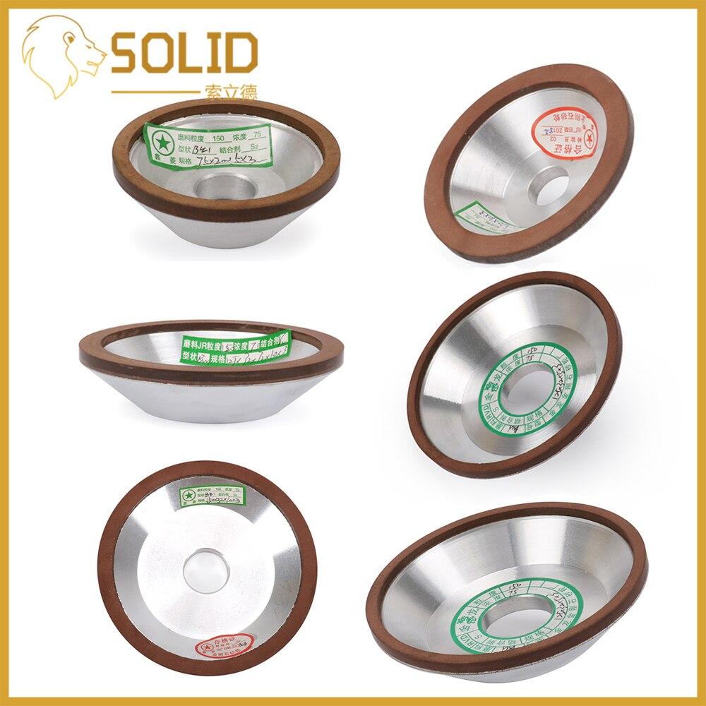 1Pc diamant meule coupe meulage cercle pour tungstène acier fraise outil affûteuse meuleuse accessoires divers taille