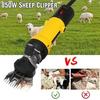850W EU Plug Electric Sheep Pet Hair Clipper Shearing Kit Shear Wool Cut Goat Pet Animal Shearing Supplies Farm Cut Machine